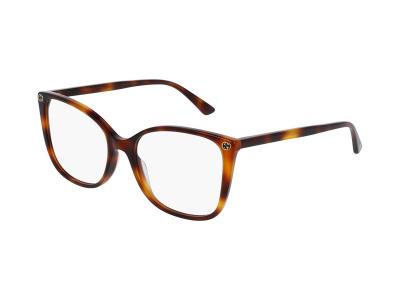 Brillenrahmen Gucci GG0026O 002