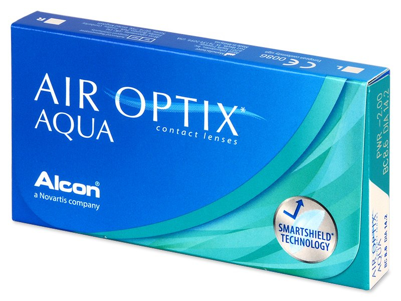 Monatslinsen - Air Optix Aqua (3 Linsen)