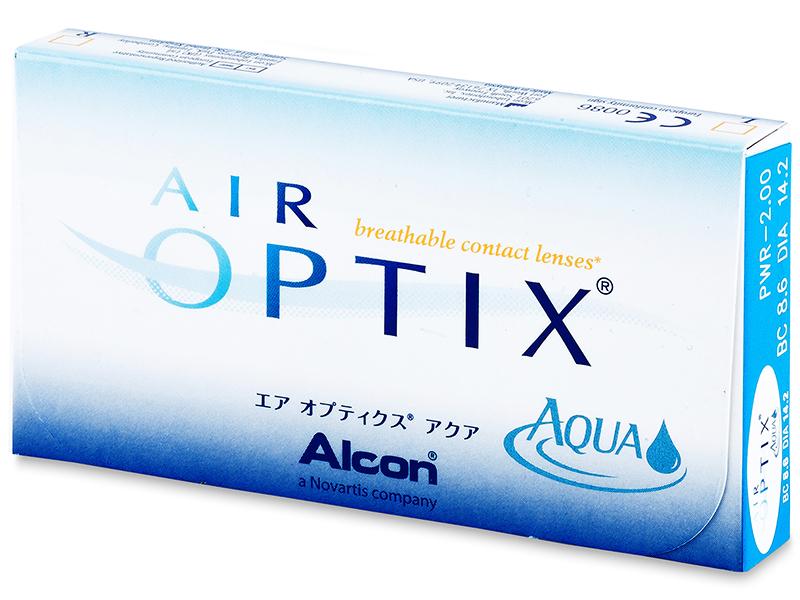 Air Optix Aqua (3Linsen) - Älteres Design