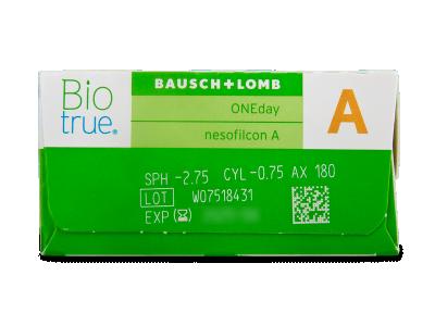 Biotrue ONEday for Astigmatism (30 Kontaktlinsen) - Vorschau