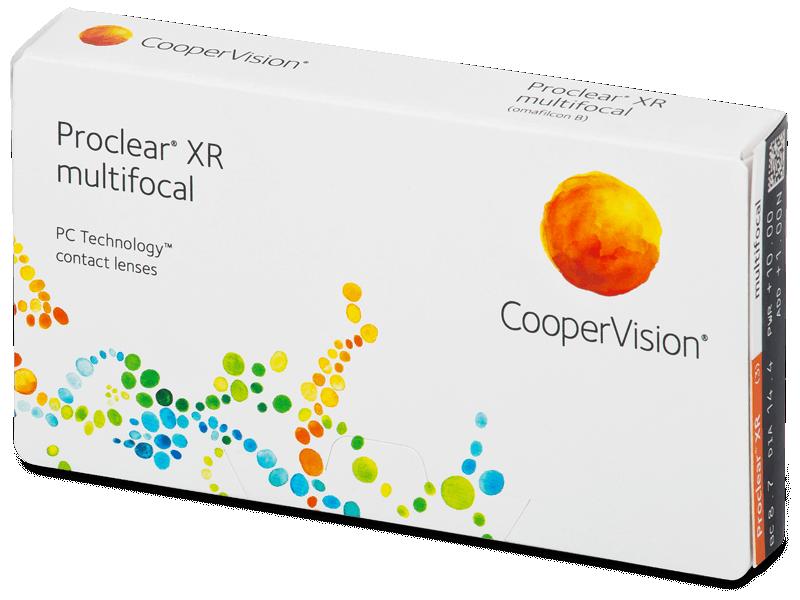 Proclear Multifocal XR (3Linsen) - Multifokale Kontaktlinsen