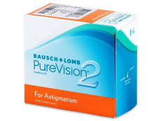 Kontaklinsen Bausch&Lomb - PureVision 2 for Astigmatism (6Linsen)