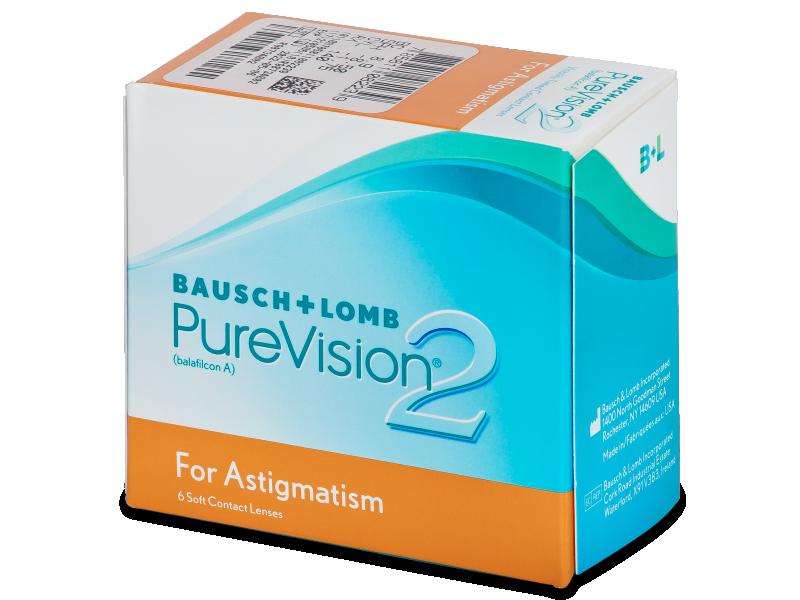 PureVision 2 for Astigmatism (6Linsen) - Torische Kontaktlinsen