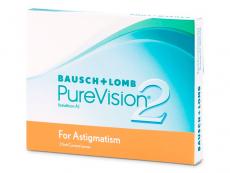 Kontaklinsen Bausch&Lomb - PureVision 2 for Astigmatism (3Linsen)