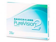Monatslinsen - PureVision 2 (3Linsen)