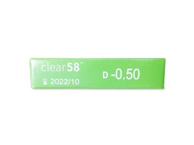Clear 58 (6Linsen) - Vorschau