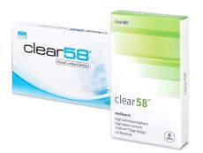 Kontaktlinsen Clear Lab - Clear 58 (6Linsen)