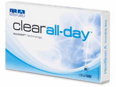 Kontaktlinsen Clear Lab - Clear All-Day (6 Linsen)