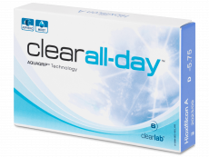 Kontaktlinsen - Clear All-Day (6 Linsen)