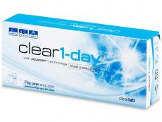 Kontaktlinsen Clear Lab - Clear 1-Day (30Linsen)