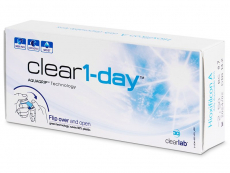 Kontaktlinsen Clear Lab - Clear 1-Day (30 Linsen)