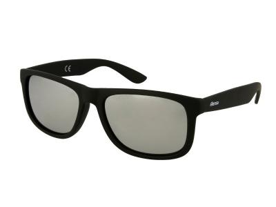 Sonnenbrillen Sonnenbrille Alensa Sport Black Silver Mirror