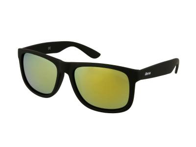Sonnenbrillen Sonnenbrille Alensa Sport Black Gold Mirror