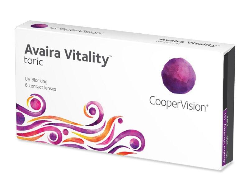 Avaira Vitality Toric (6 Linsen) - Torische Kontaktlinsen