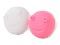 Behälter und Reise-Kits - Ersatzgehäuse für vibrierenden Linsen-Behälter - rosa