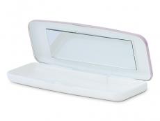 Behälter und Reise-Kits - Fester Behälter für Tageslinsen - rosa
