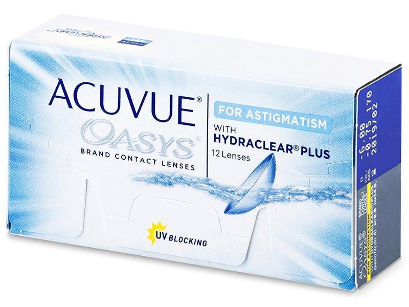 Acuvue Oasys for Astigmatism (12 Linsen) - Torische Kontaktlinsen