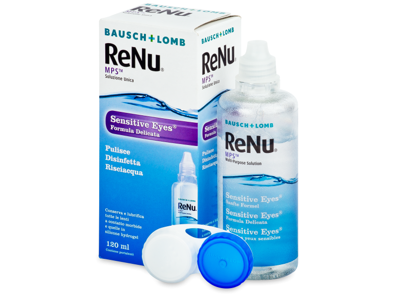 ReNu MPS Sensitive Eyes 120 ml  - Reinigungslösung