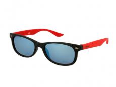 Sonnenbrillen Classic Way - Kinder Sonnenbrille Alensa Sport Black Red Mirror