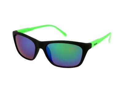Damen Sonnenbrille Alensa Sport Black Green Mirror