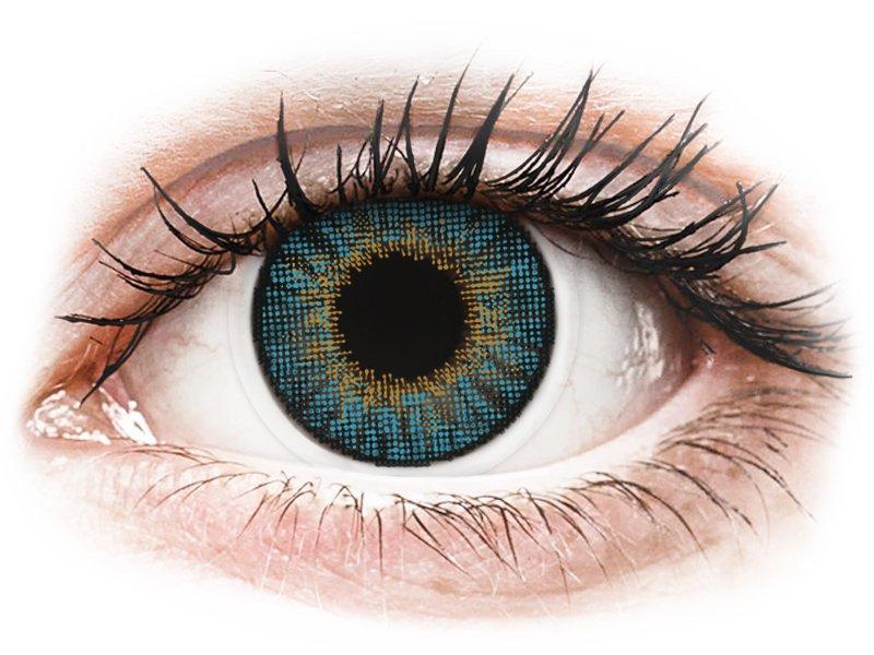 Air Optix Colors - Blue - mit Stärke (2Linsen) - Coloured contact lenses