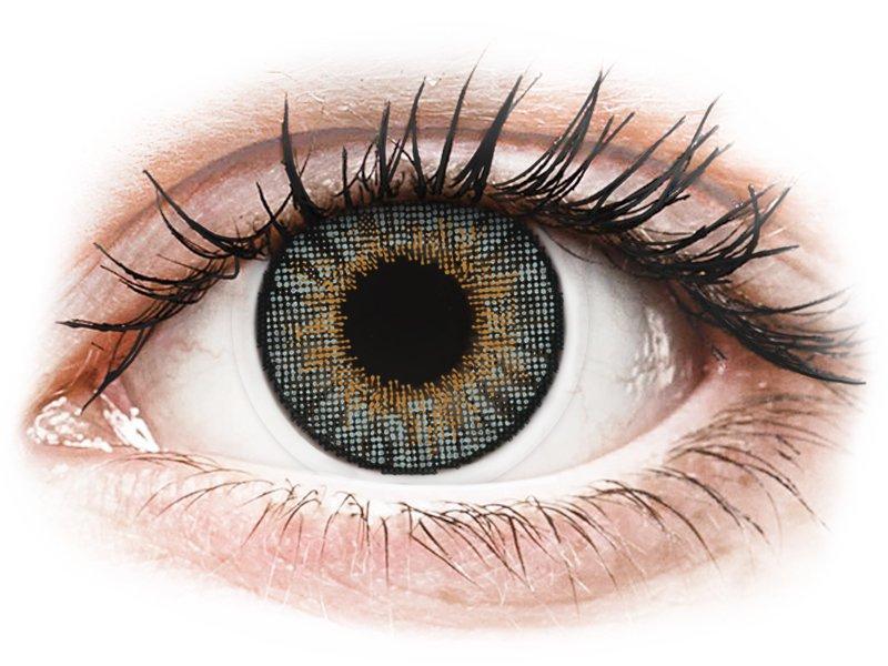 Air Optix Colors - Grey - mit Stärke (2Linsen) - Coloured contact lenses
