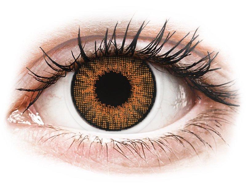 Air Optix Colors - Honey - ohne Stärke (2 Linsen) - Coloured contact lenses