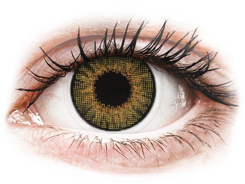 Air Optix Colors - Pure Hazel - ohne Stärke (2 Linsen) - Coloured contact lenses