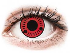 Farblinsen - ColourVUE Crazy Lens - Sasuke - ohne Stärke (2 Linsen)