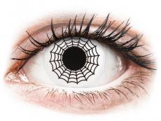 Farblinsen - ColourVUE Crazy Lens - Spider - ohne Stärke (2 Linsen)