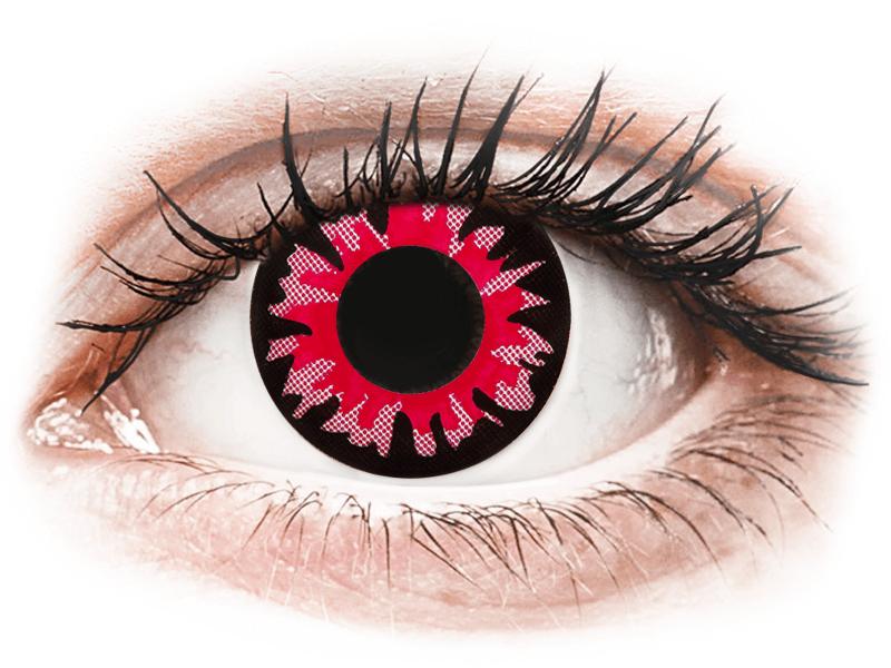 ColourVUE Crazy Lens - Volturi - ohne Stärke (2 Linsen) - Coloured contact lenses