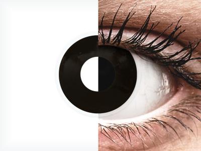 ColourVUE Crazy Lens - BlackOut - mit Stärke (2 Linsen)