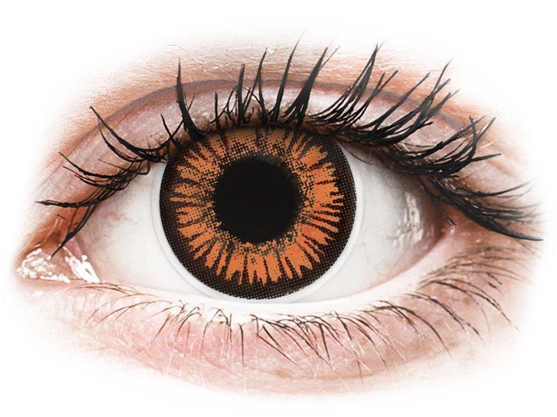 ColourVUE Crazy Lens - Twilight - mit Stärke (2 Linsen) - Coloured contact lenses
