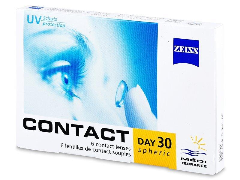 Carl Zeiss Contact Day 30 Spheric (6Linsen) - Monatslinsen