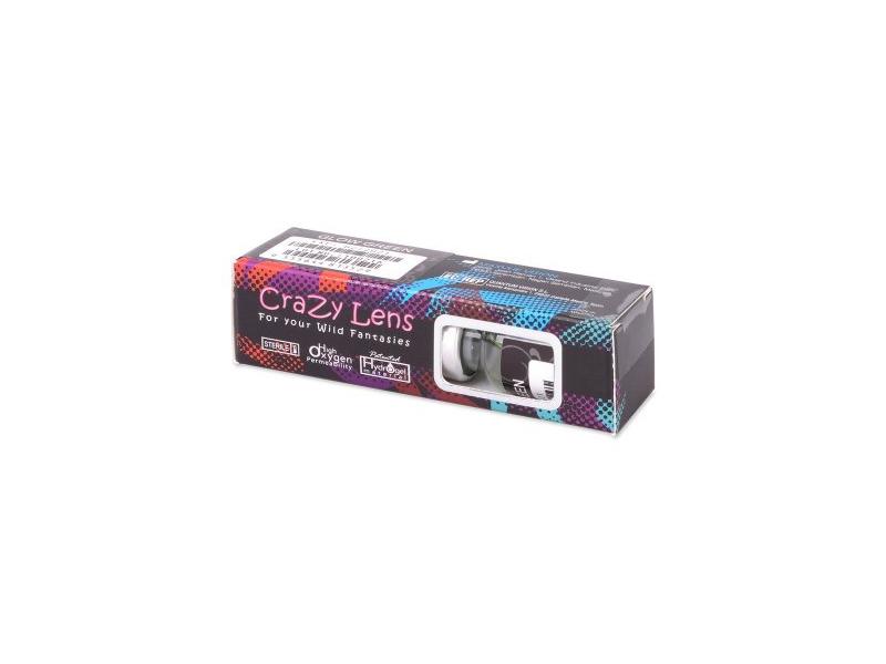 ColourVUE Crazy Glow Electric Blue - ohne Stärke (2Linsen)