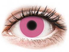 Farblinsen - ColourVUE Crazy Glow Pink - ohne Stärke (2Linsen)