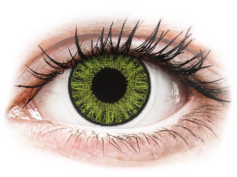 TopVue Color Tageslinsen - Fresh Green - ohne Stärke (10Linsen) - Coloured contact lenses
