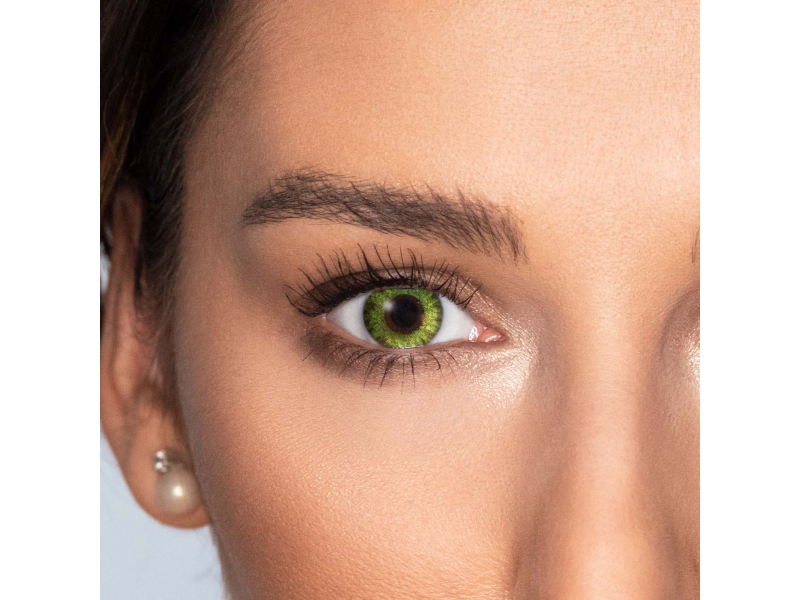 TopVue Color Tageslinsen - Fresh Green - ohne Stärke (10Linsen)