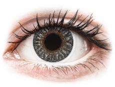 Graue Kontaktlinsen mit Stärke - TopVue Color - Grey - mit Stärke (2Linsen)
