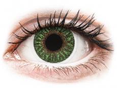 Grüne Kontaktlinsen mit Stärke - TopVue Color - Green - mit Stärke (2Linsen)
