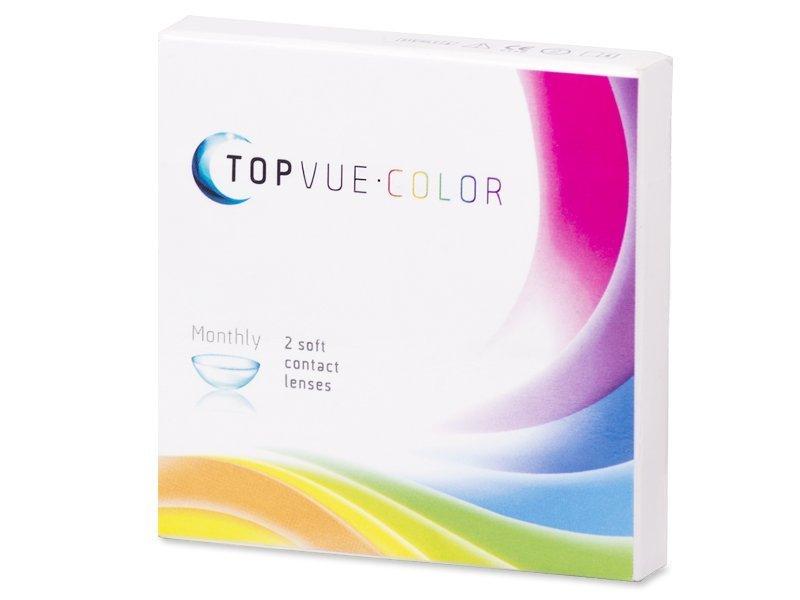 TopVue Color - Green - mit Stärke (2Linsen) - Älteres Design