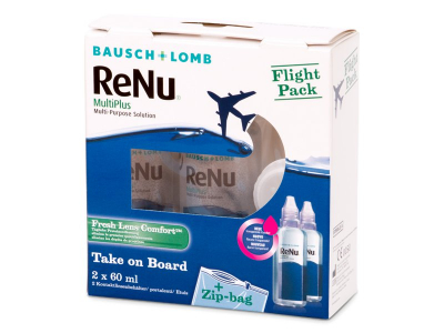 ReNu MultiPlus Flight Pack 2x60 ml  - Älteres Design