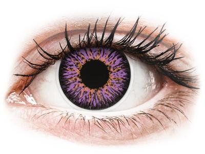 ColourVUE Glamour Violet - ohne Stärke (2Linsen)