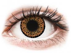 Farblinsen - ColourVUE Elegance Brown - ohne Stärke (2Linsen)