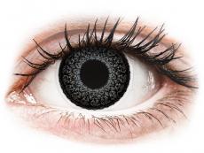 Graue Kontaktlinsen ohne Stärke - ColourVUE Eyelush Grey - ohne Stärke (2Linsen)