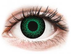 Farblinsen mit Stärke - ColourVUE Eyelush Green - mit Stärke (2Linsen)