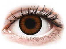Farblinsen - ColourVUE BigEyes Pretty Hazel - ohne Stärke (2Linsen)
