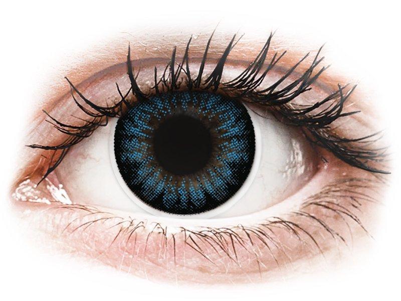 ColourVUE BigEyes Cool Blue - ohne Stärke (2Linsen)
