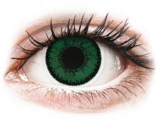 Grüne Kontaktlinsen ohne Stärke - SofLens Natural Colors Aquamarine - ohne Stärke (2 Linsen)