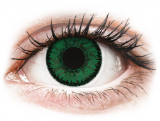 Kontaklinsen Bausch&Lomb - SofLens Natural Colors Emerald - mit Stärke (2 Linsen)
